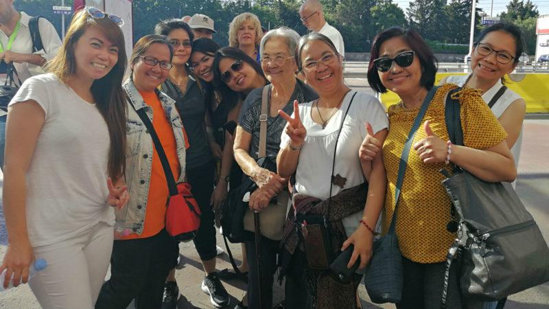 Aus den Philippinen nach Genf gereist | © Francesca Trento