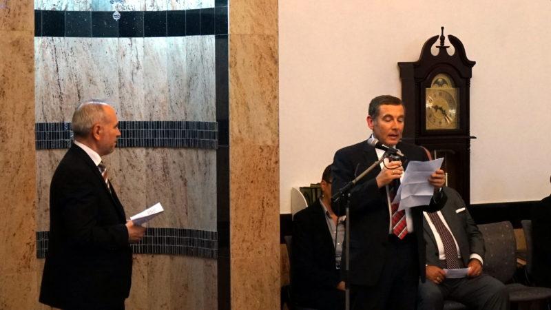 Israels Botschafter Jacob Keidar beim Bener Fastenbrechen | © Georges Scherrer