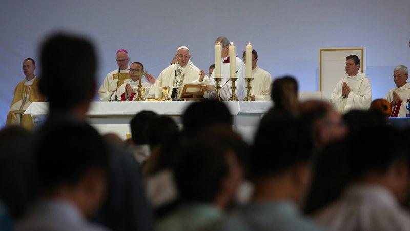 Papstmesse in der Palexpo Genf | © Bernard Hallet
