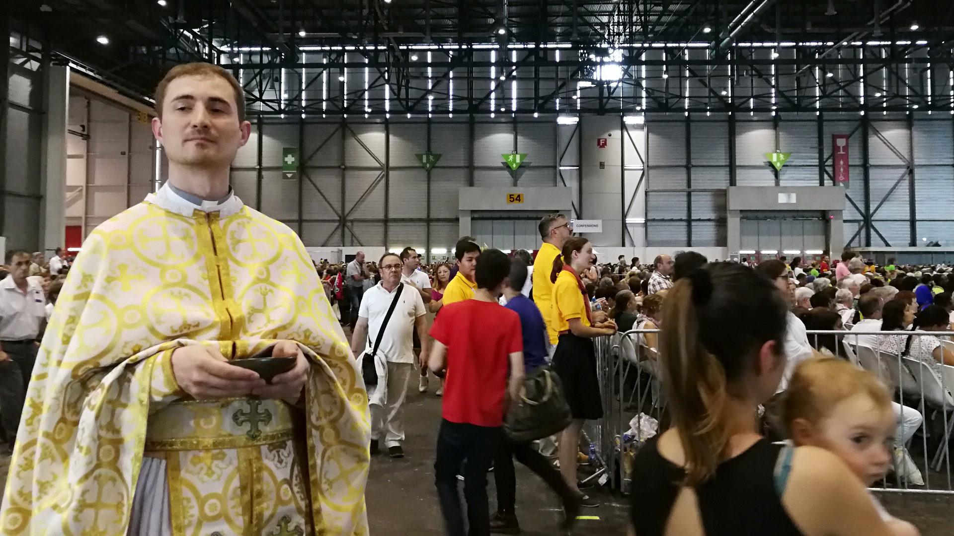 Kommunion an der Papstmesse in Genf | © Francesca Trento