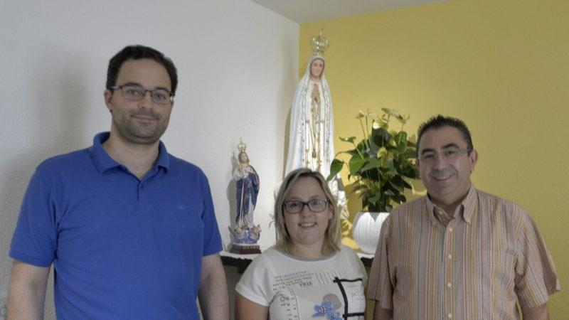 Marcello Rebelo, Monica Dantas und Missionar Aloisio Araujo | © Regula Pfeifer
