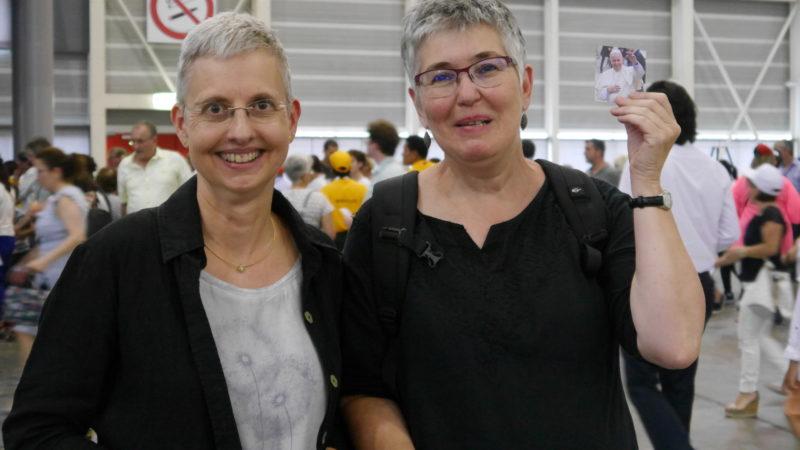 Dorothee Becker und Monika Hungerbühler | © Anne Burgmer