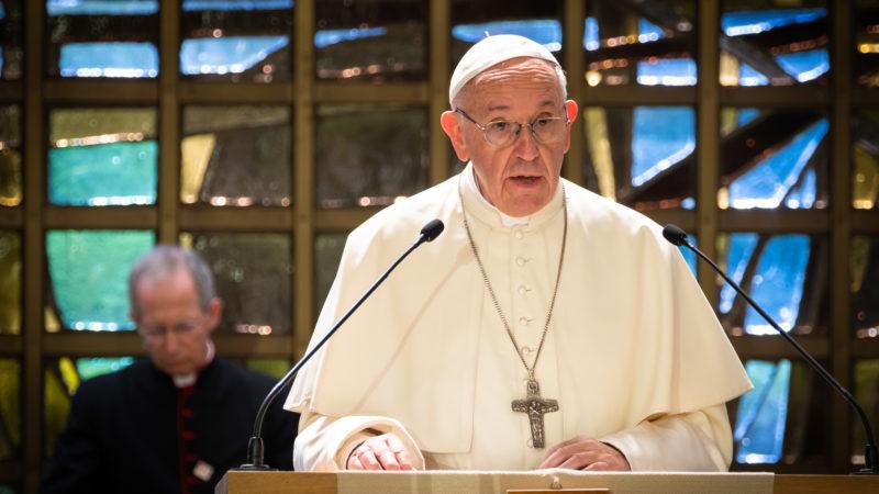 Papst Franziskus beim ökumenischen Gebet des ÖRK | © Magnus Aronson, WCC