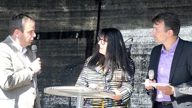Reden über verfolgte Christen: Gerhard Pfister, Marianne Streiff, Marc Jost | © Vera Rüttimann