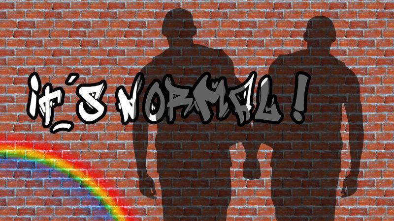 «Homosexualität ist normal!» | © pixabay