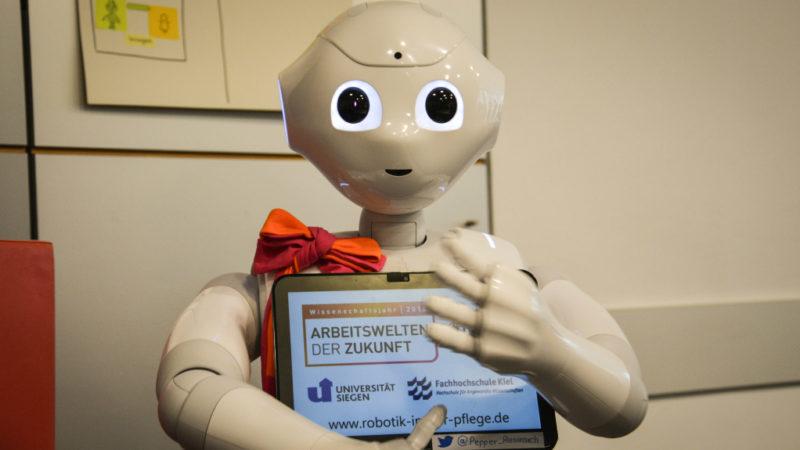 Pflegeroboter «Pepper»    ©  Nadine Vogelsberg/KNA