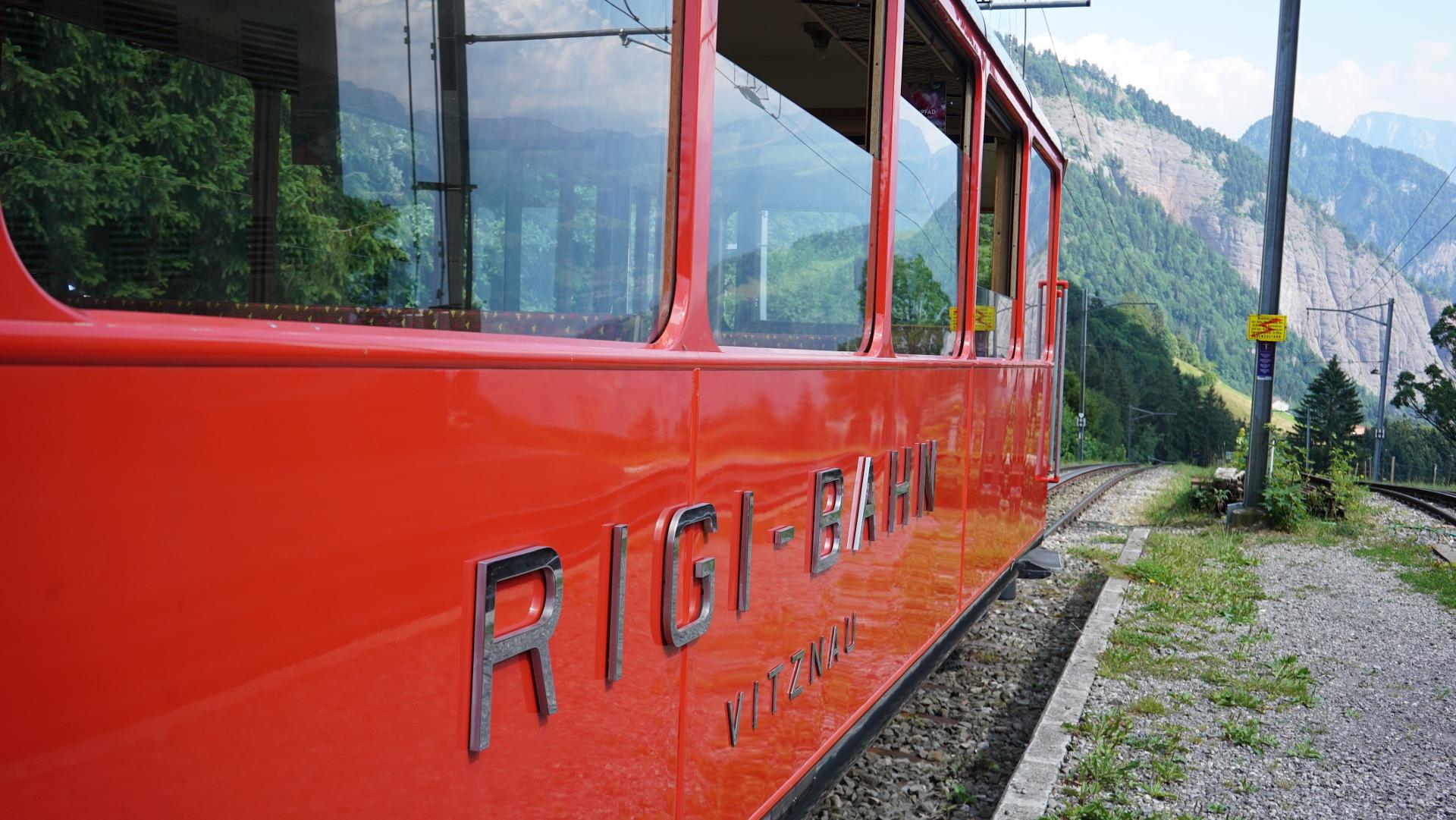 Rigibahn an der Station Romiti | © Vera Rüttimann