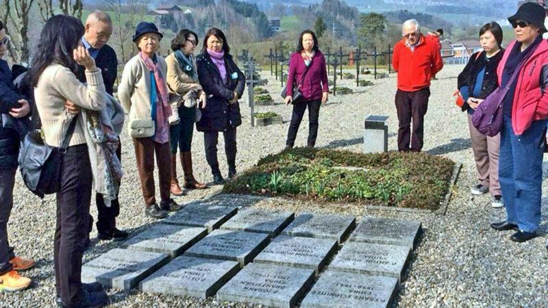 Gedenken an die in China verstorbenen Missionare.   © zVg