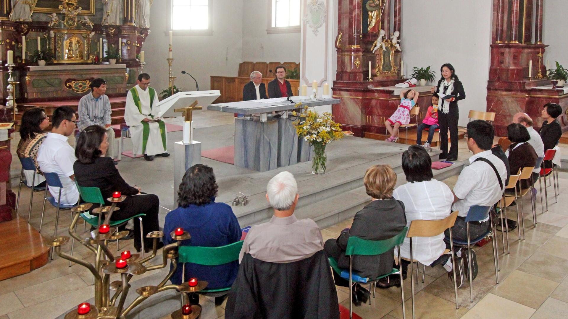 Gottesdienst der Schweizer Chinamission  © zVg