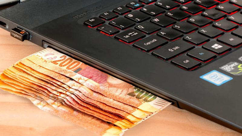 Auch in Internet können hohe Beträge verspielt werden. | © pixabay.com / stevepb CC0