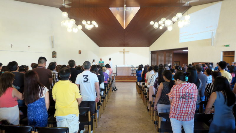 Gottesdienst der Philippinenmission   © zVg