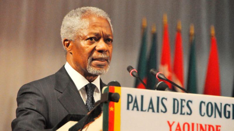 Kofi Annan | © Keystone