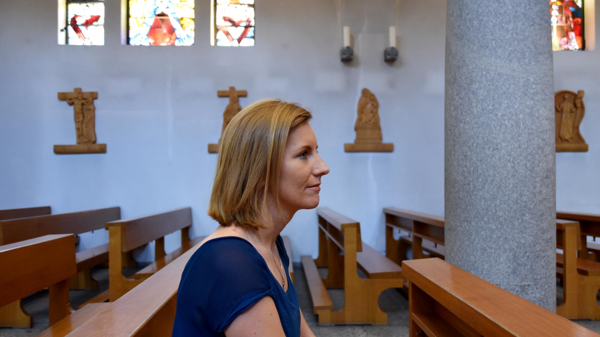 Agnieszka Rychlewska bezeichnet sich als sehr religiös: