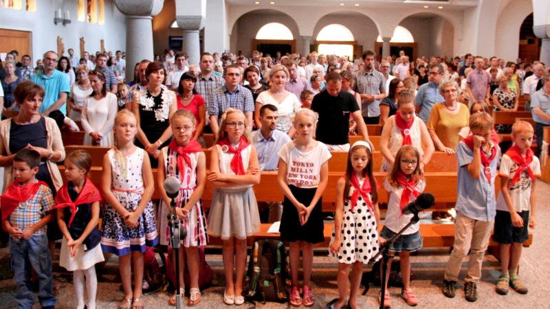 Gottesdienst der Polenmission in der Herz Jesu-Kirche Zürich-Wiedikon | © Aneta Giernalczyk/zVg