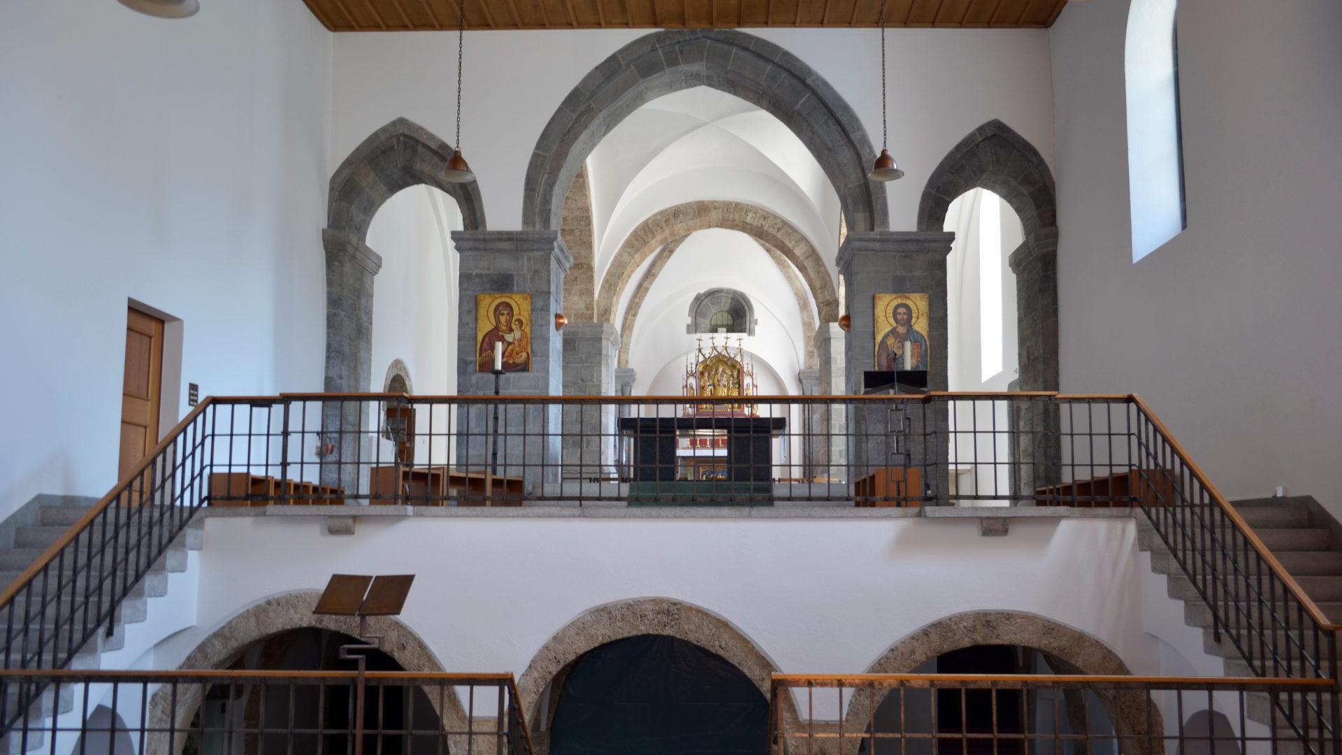 Kirche St. Luzi, Chur | © Regula Pfeifer