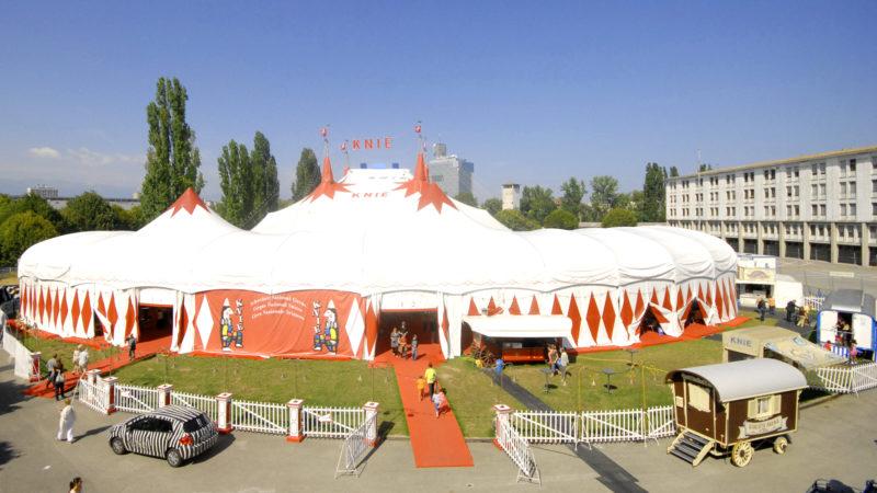 Zelt des Zirkus Knie | © zVg