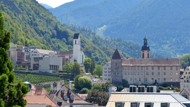 Priesterseminar St. Luzi und Bischöfliches Schloss in Chur | © Regula Pfeifer