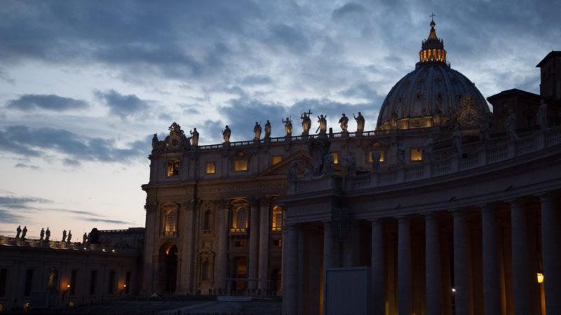 Scham und Trauer herrschen derzeit im Vatikan | © Andrea Krogmann