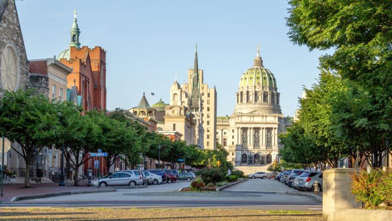 Harrisburg, Hauptstadt des US-Bundesstaates Pennsylvania | © pixabay.com / mikespixels CCO