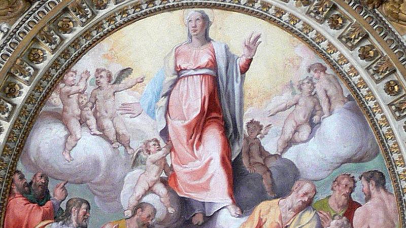 Deckengemälde zu Maria Himmelfahrt. | © pixabay.com CCO