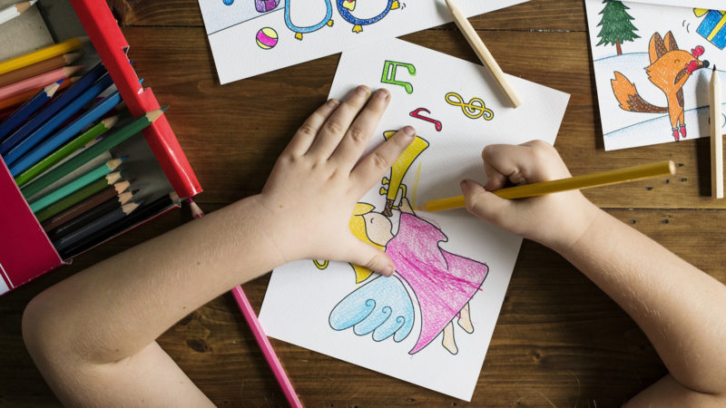 Kind beim Malen. | © pixabay.com CCO