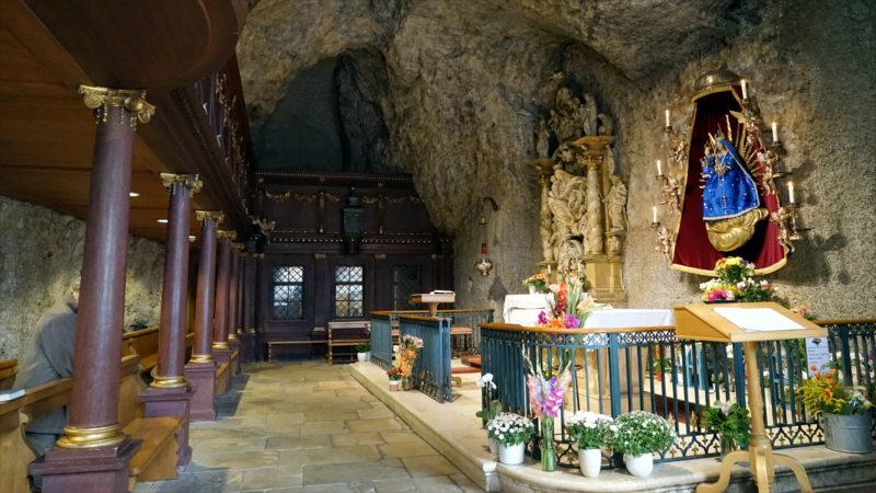 Mariastein-Heiligtum «Unserer Lieben Frau im Stein» | © Georges Scherrer