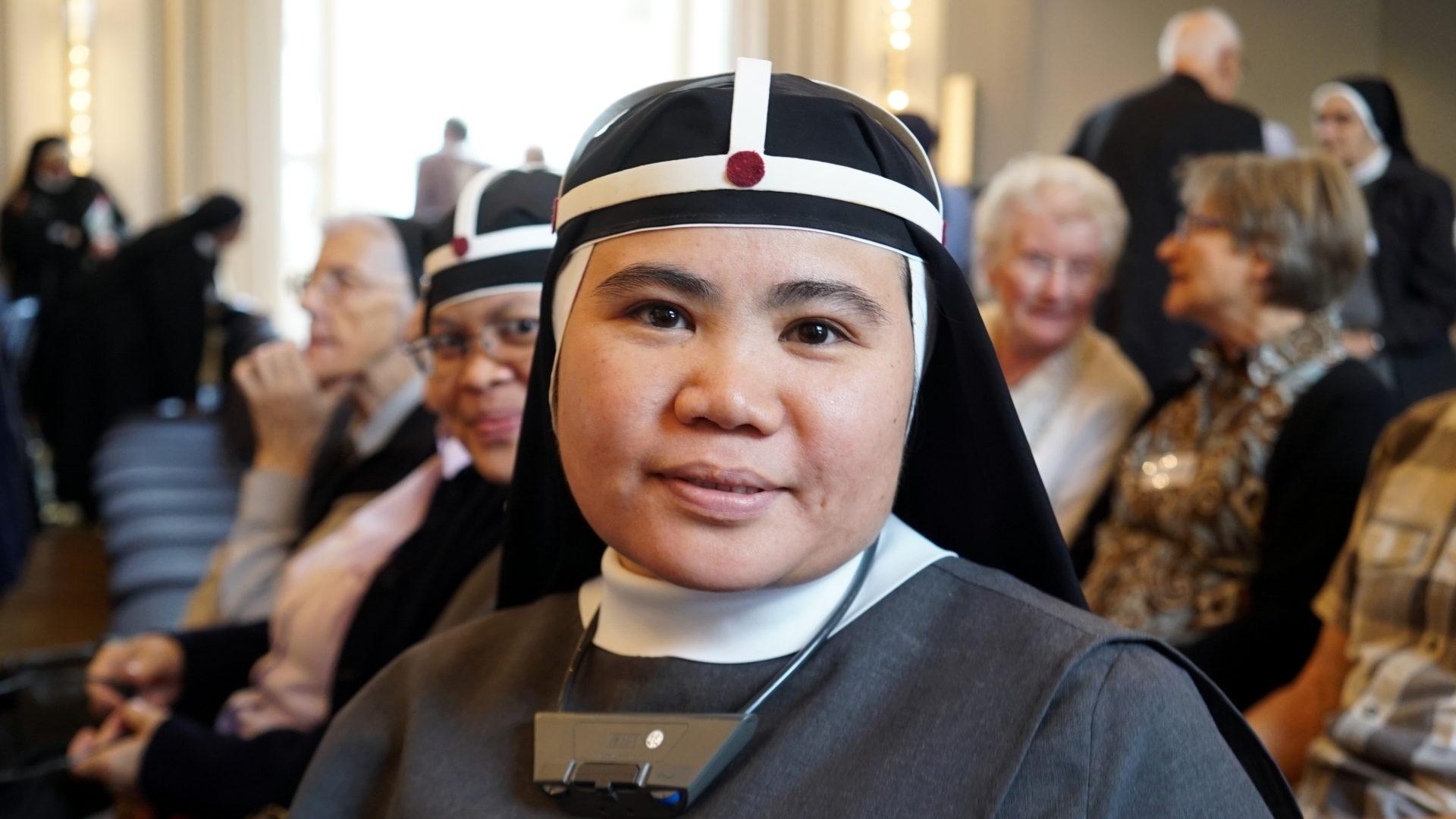 Auch in Baar: Ordensschwester aus Vietnam  | © Vera Rüttimann