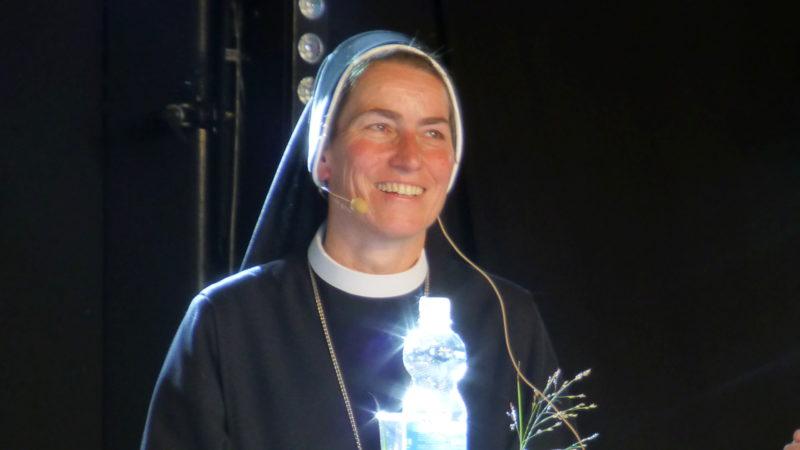 Imelda Zehnder, Äbtissin des Klosters St. Lazarus in Seedorf | © kath.ch