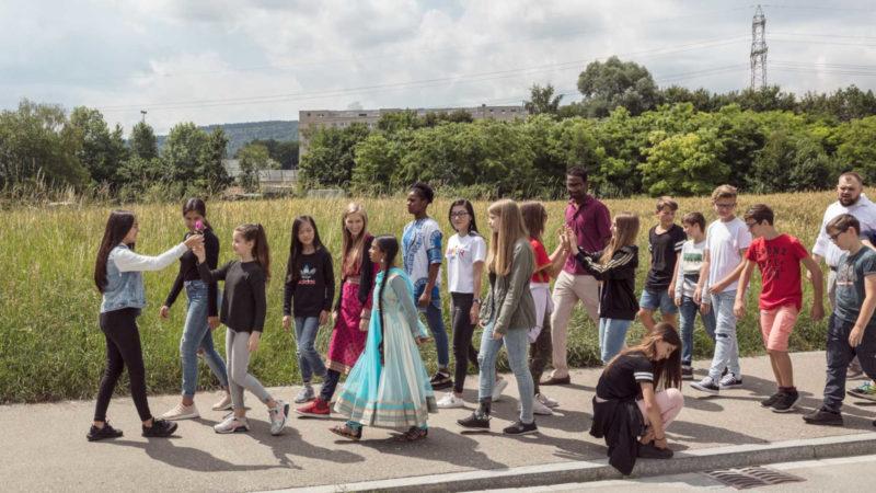 Dialogue en Route – das Kampagnenbild 2018 | © IRAS-COTIS / Michael Lio