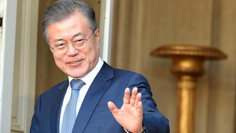 Südkoreas Präsident Moon Jae-in | © Keystone