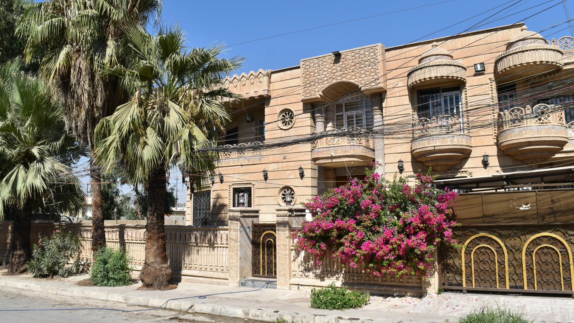 Intaktes Haus in Mossul   © Jacques Berset