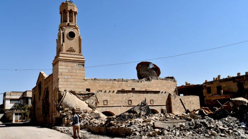 Zerstörte Kirche in Mossul   © Jacques Berset