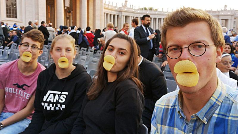 v.l. Simon Bünter, Marina Zuber, Diellza Gojani und Benedikt Arndgen | © zVg