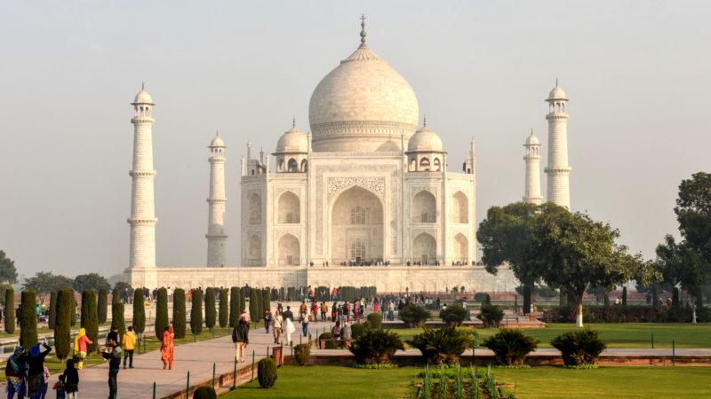 Tasch Mahal in Agra (Indien).   © KNA
