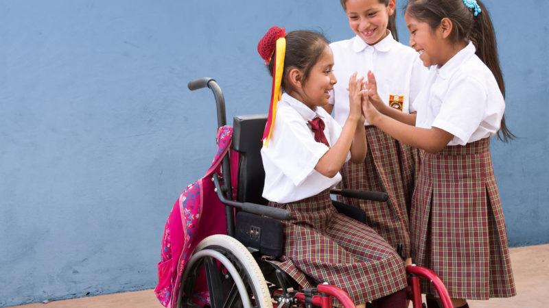 Mädchen in Peru: Plakatmotiv der Aktion Sternsingen 2019 | Missio Schweiz