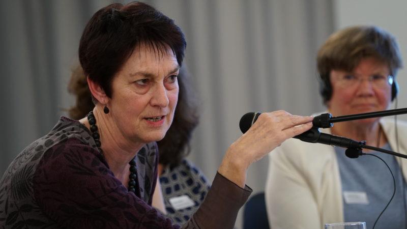 Viele Kolleginnen und Kollegen haben auf den Austritt von Doris Strahm reagiert. | © Vera Rüttimann