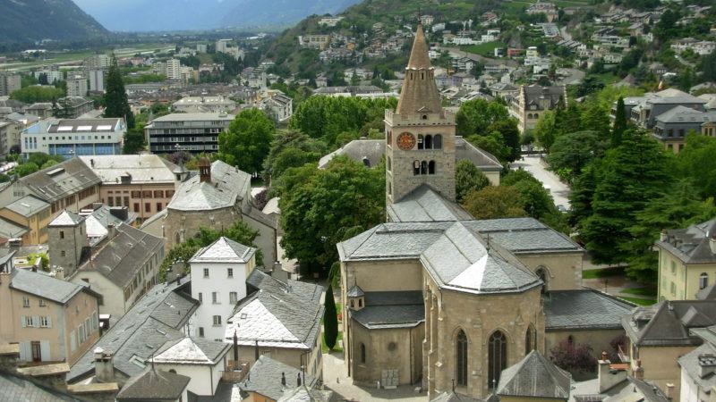 Blick auf die Kathedrale «Notre Dame» in der Altstadt von Sitten | pixabay.com