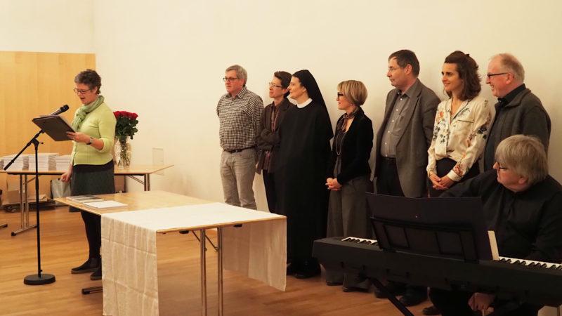 Pilgerprojekt-Initantin Hildegard Aepli (ganz links) und das Kernteam | © Anne Burgmer