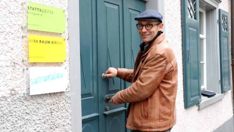 Kurt Pauli, Leiter des Stattklosters St. Gallen, freut sich darauf, am 1. Januar 2019 die Türen zu öffnen.   © Claudia Koch