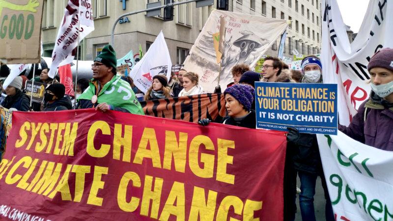 Demonstration fürs Klima in Katowice (Polen) | © zVg