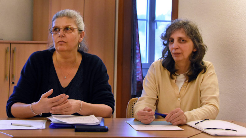 Christine Lany Thalmeyr (l.) und Federica Cogo | © Grégory Roth