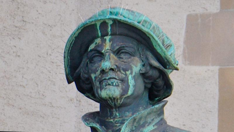Zwingli in Zürich, von der Zeit gezeichnet | ©  Georges Scherrer