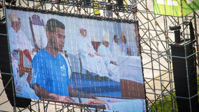 Eröffnungsgottesdienst des Weltjugendtags 2019 am 22. Januar 2019 in Panama City. | © KNA