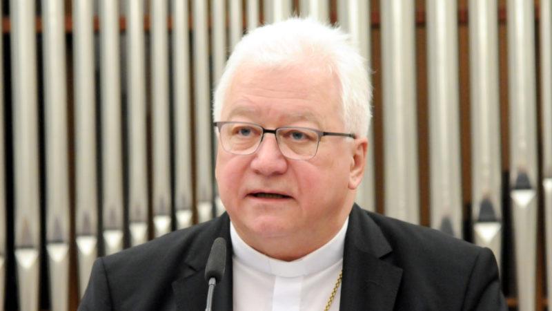 Bischof Markus Büchel anlässlich der Neujahransprache | © Sabine Rüthemann