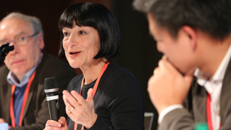 Romilda Ferrauto ist neu «Senior Advisor» des vatikanischen Pressesprechers. | © Bernard Hallet