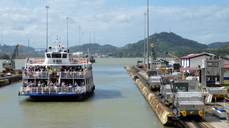 Der Panamakanal | ©pixabay neufal54