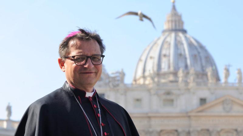 Felix Gmür, Bischof von Basel, in Rom   © Katarzyna Artymiak