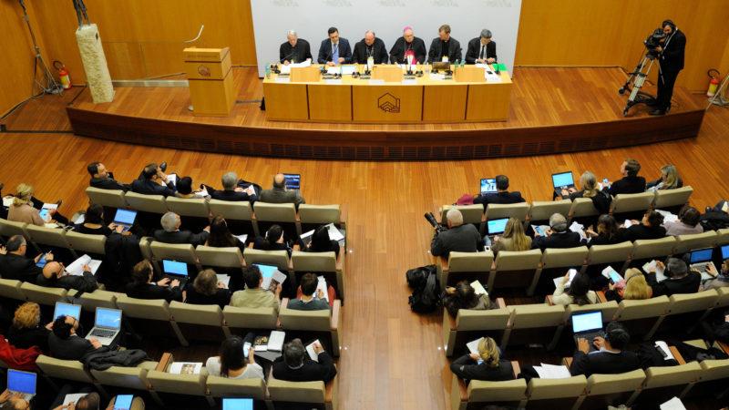 Medienkonferenz nach dem ersten Tag der Anti-Missbrauchskonferenz   © Katarzyna Artymiak