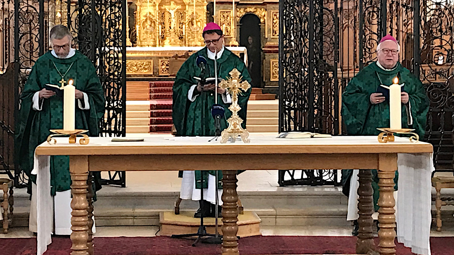 Gottesdienst anlässlich der Vollversammlung der Schweizer Bischofskonferenz, Februar 2019 | © zVg