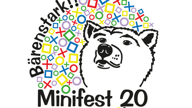 Logo des Minifests vom 6. September 2020 in St. Gallen | © Damp